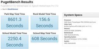 AMD Ryzen Threadripper Pro 5995WX Benchmark PugetBench