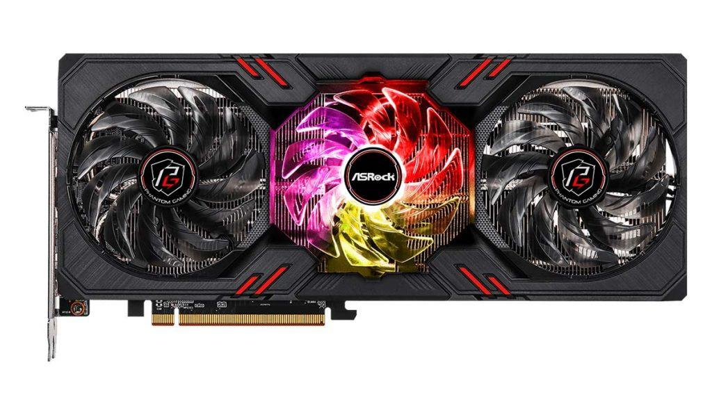 ASRock Radeon RX 6600 XT Phantom Gaming D 8 GB OC