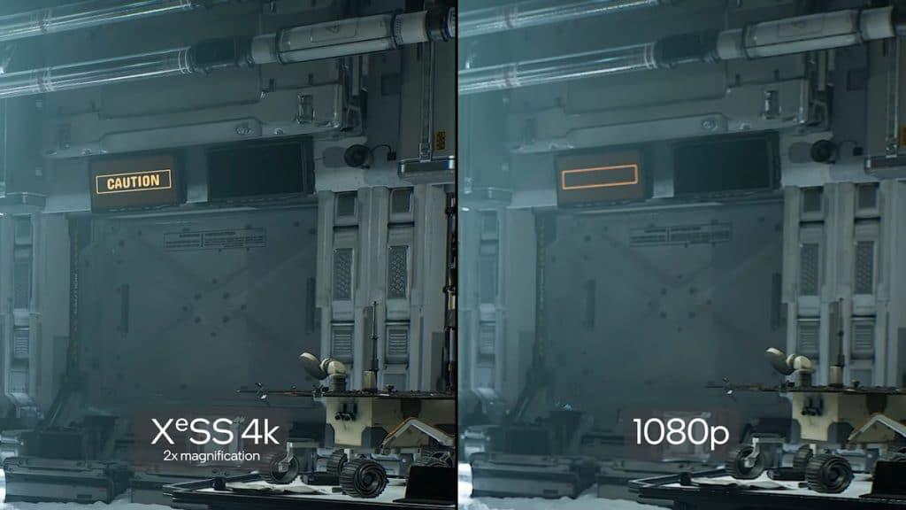 Intel XeSS comparaison
