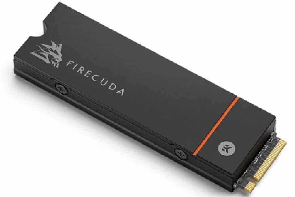 SSD Seagate FireCuda 530 Heatsink