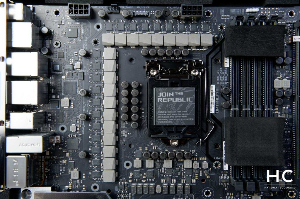 test VRM ASUS ROG MAXIMUS XIII Extreme Glacial