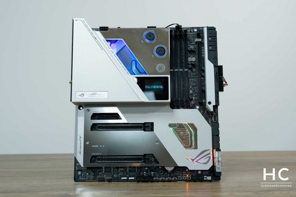 Test ASUS ROG MAXIMUS XIII Extreme Glacial