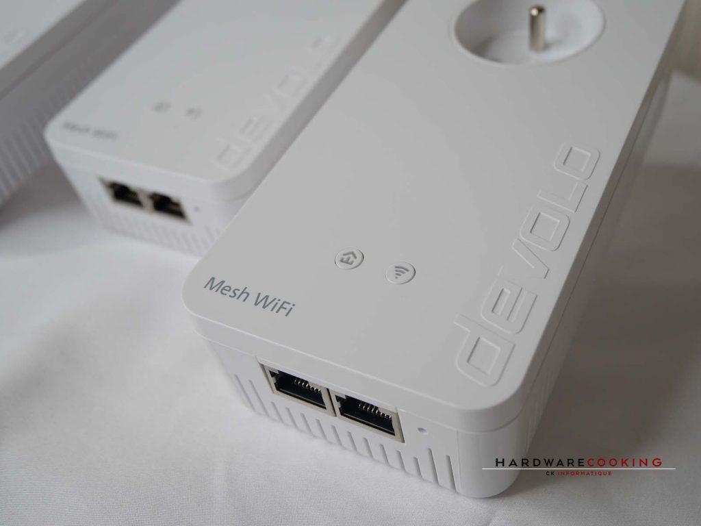 Mesh WiFi et boutons d'état