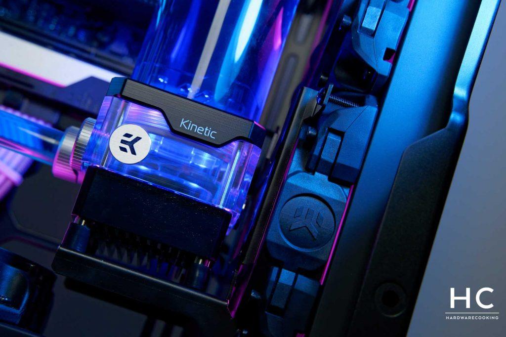 EK-Quantum Kinetic TBE 160 DDC Body D-RGB – Plexi