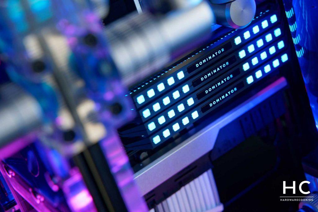 CORSAIR Dominator Platinum RGB 4 x 16 Go 3200 MHz C16