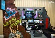 Intel CaseMod Gamers Never Die, by Suchao modding&design
