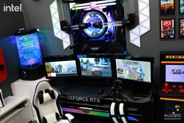 Tri-screen