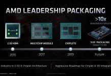 AMD EPYC Milan-X X3D packaging technologie