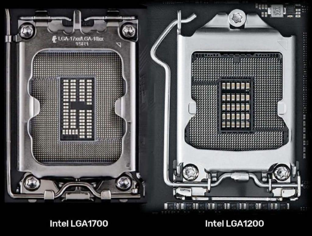 Socket Intel LGA1700 vs LGA1200