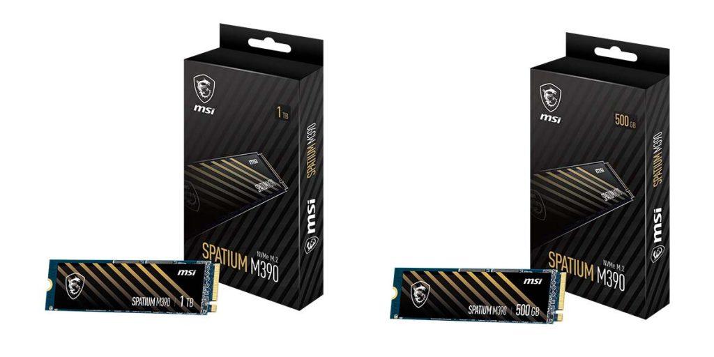 SSD MSI SPATIUM M390