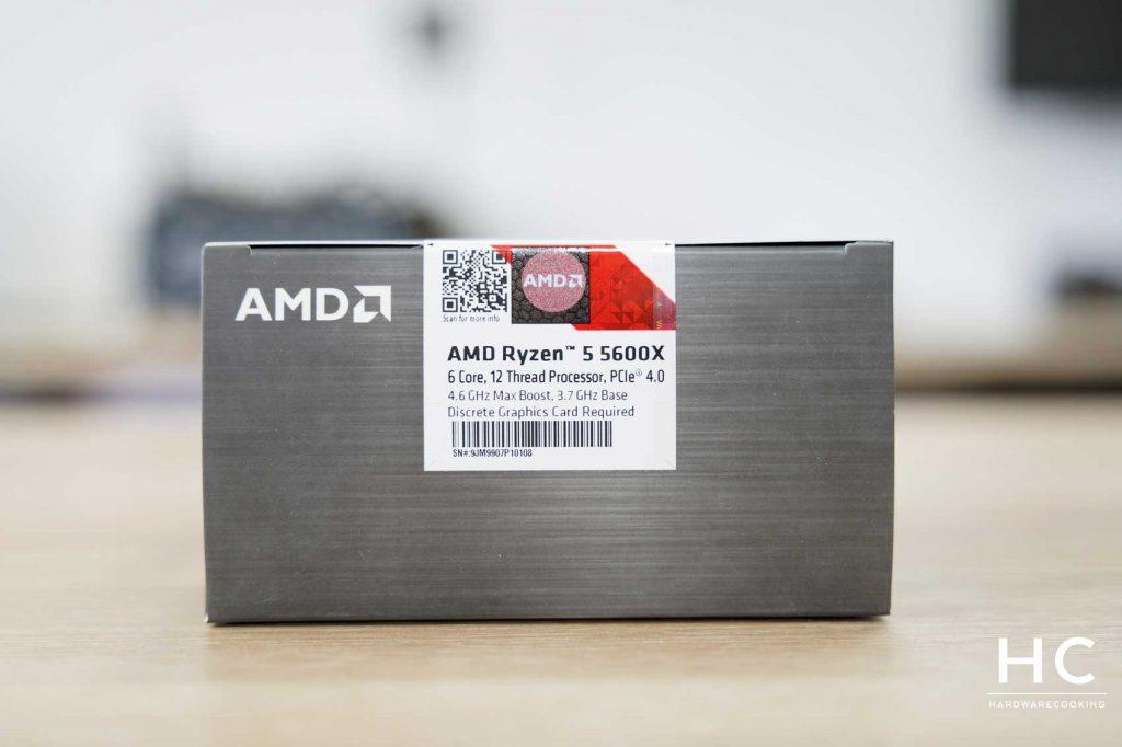 Boîte AMD Ryzen 5