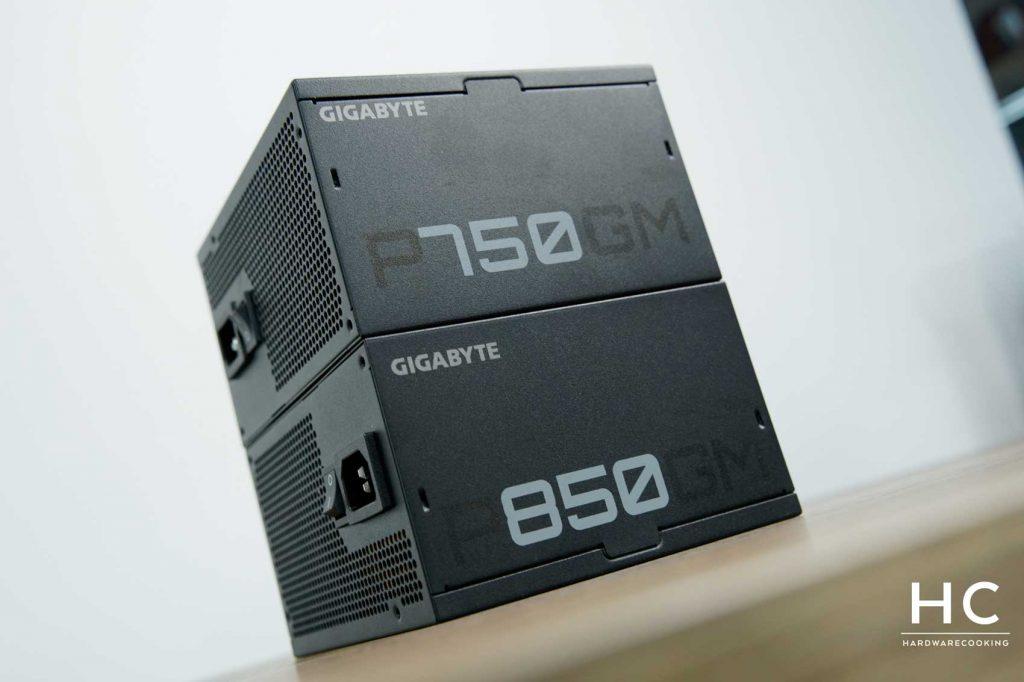 Test alimentation GIGABYTE P850GM et P750GM