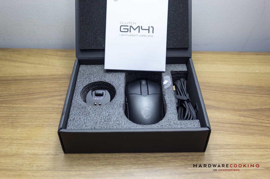 MSI Clutch GM41 Lightweight Wireless - Bundle