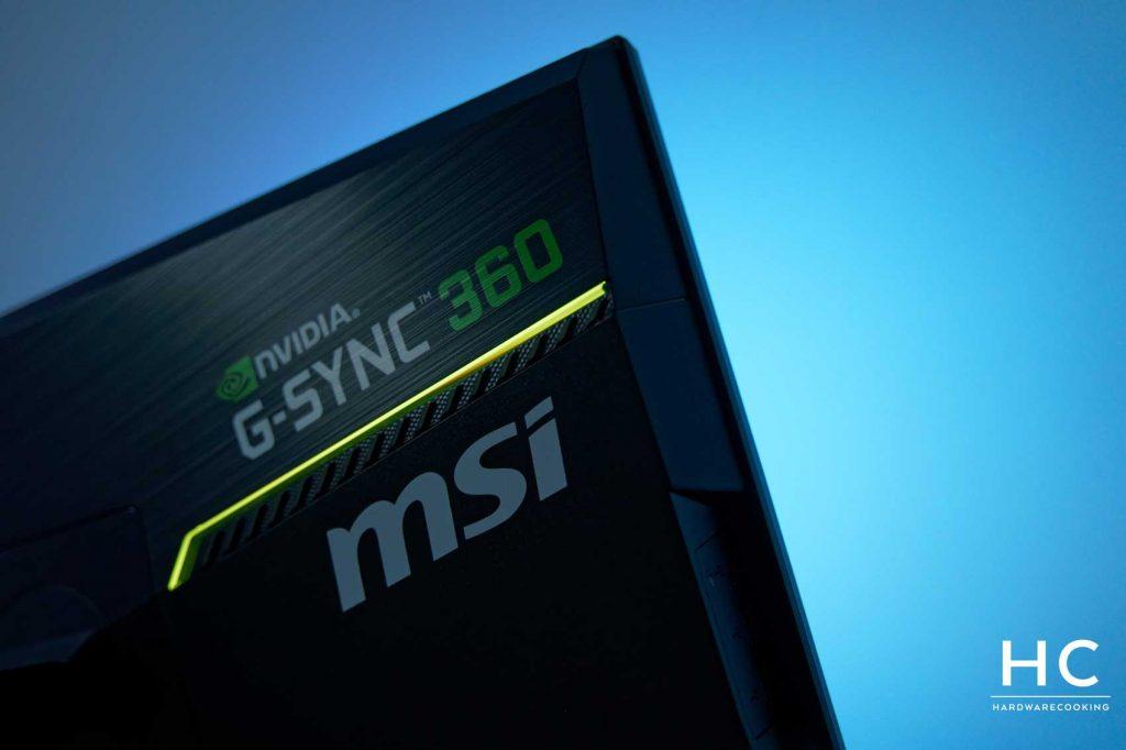 Test MSI Oculux NXG253R
