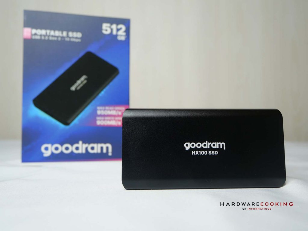test SSD externe GOODRAM HX100