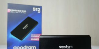 SSD externe GOODRAM HX100