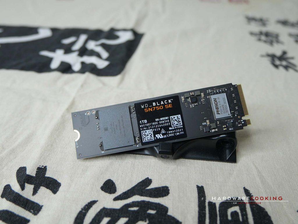 Test SSD WD_BLACK SN750 SE
