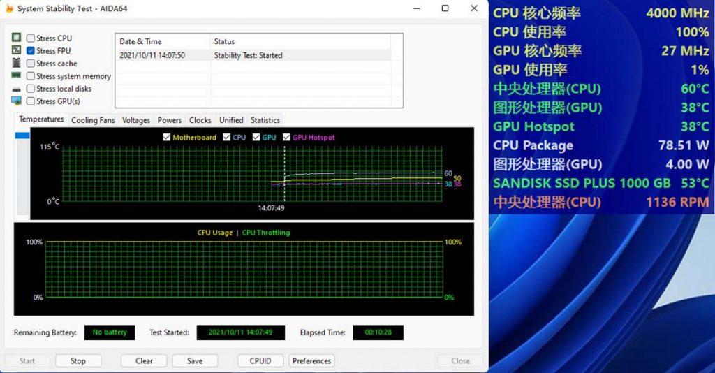 AIDA64 Intel Core i5-12400