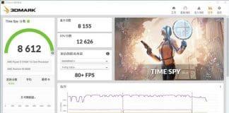Résultat 3DMark Time Spy AMD Radeon RX 6600
