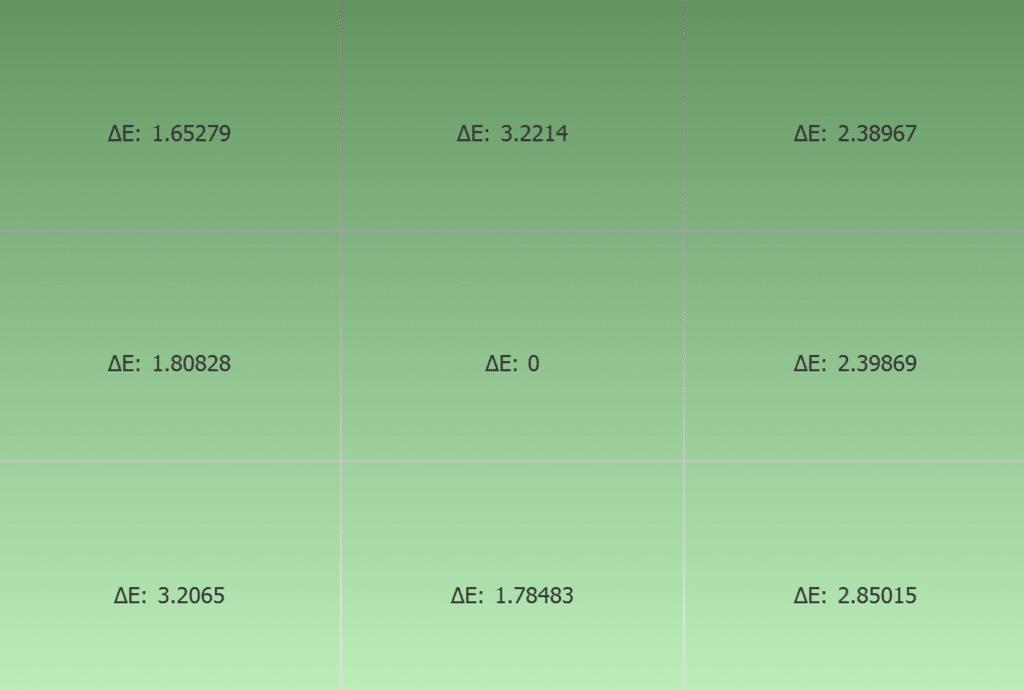 Test uniformité couleur ASUS ProArt PA279CV