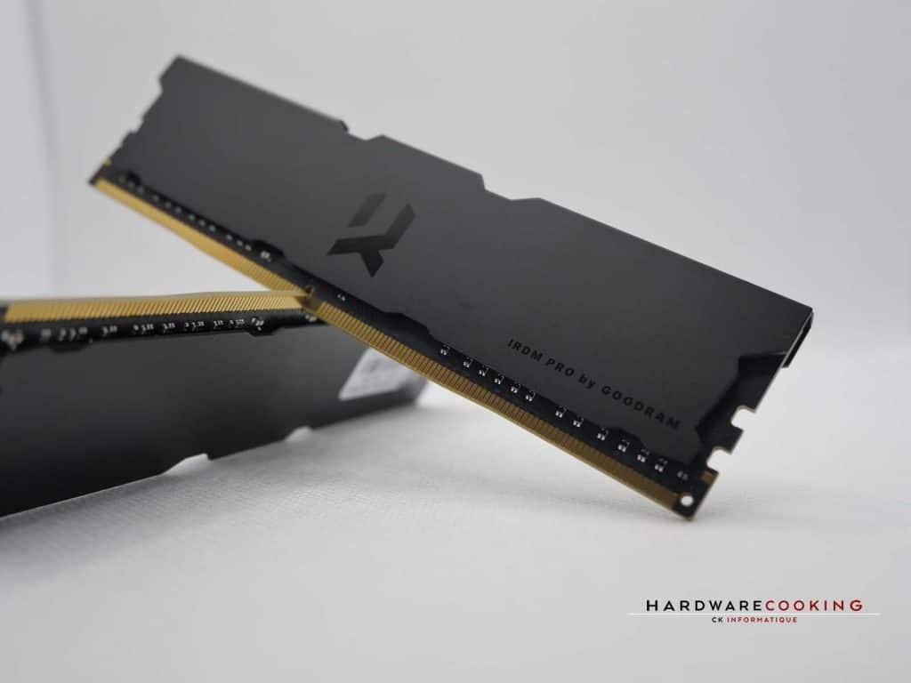 Test : DDR4 GOODRAM IRDM PRO DEEP BLACK 2 x 8 Go 3600 MHz CL18