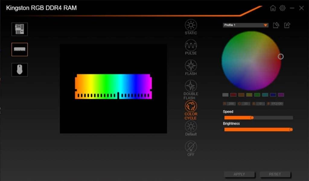 Kingston FURY Renegade AORUS RGB Fusion 2.0