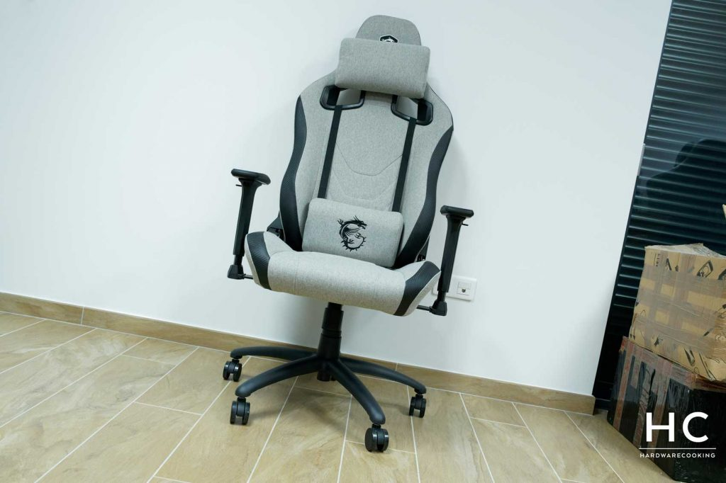 Test fauteuil MSI MAG CH130 I FABRIC